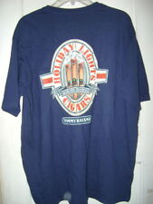 NEW T SHIRT by TOMMY BAHAMA RELAX HOLIDAY LIGHTS CIGARS size L