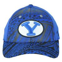 NCAA Zephyr Brigham Young Cougars Blue Flex Fit Stretch Medium Large Hat Cap