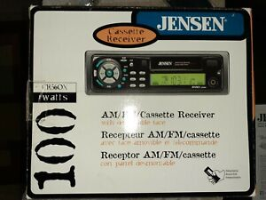 JENSEN Cassette Car Stereo Deck CR560x - FACTORY SEALED in the Original Box
