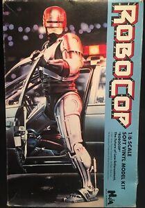 Robocop  1:6 Scale 1987 2 Separate Head Version Huia Japan Vinyl Kit Mint In Box