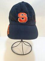 Syracuse University Embroidered Adjustable Navy Blue Cap/Hat Orangemen