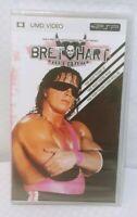 "WWE - Bret ""Hit Man"" Hart PSP UMD Video New Sealed"