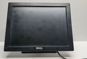 """Dell E157FPTe 15"""" Touch Screen Monitor  w/Stand USB,VGA and power cables"""