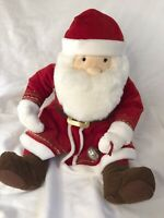 Hallmark Polar Express Santa Plush Talking Magic of Christmas Lies in Your Heart