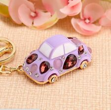 Idea Gift car Keychain Crystal Keyring Key Ring Chain Bag Charm Pendant  EA378