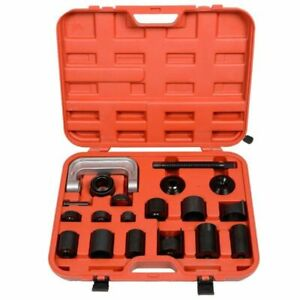 Master Ball Joint Press Service Tool Kit Auto Repair Remover Install Adapter Set
