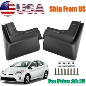 4Pcs For Toyota Prius XW30 10-15 Front Rear Mud Flaps Splash Guards 00016-47225