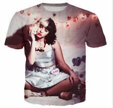 New Womens/Mens Melanie Martinez Concert Funny 3D Print Casual T-shirt UK866