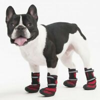 Fashion Pet Performance Waterproof Fleece Dog Boots - Red (Free Shipping in USA)