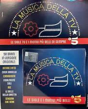 CD Musicale Chi Sorrisi La Musica Della TV Le Sigle e Motivi Più Belli di Sempre