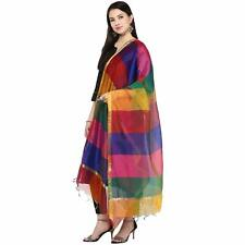 Chiffon Dupatta For Women Indian Stole Scarf Party Wear Wrap Chunni Multi Colour