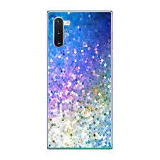 Funda gel dibujo azul para Samsung Galaxy NOTE 10 plus