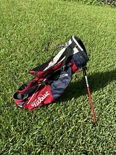 New listing Titleist Stand/Carry Golf Bag with 2-way Dividers No Rain Cover Sunday Bag
