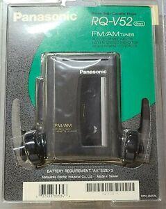 Panasonic RQ-V52 Stereo Radio Cassette Player FM/AM Tuner Vintage  NEW SEALED