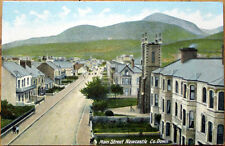 1910 Main Street Postcard: Newcastle - County Down, Northern Ireland