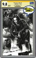 The Crow THE CROW LETHE #3 CGC CREATOR EDITION - SIGNED SKETCHED REMARKED CGC 9.
