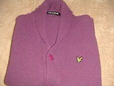 Lyle Scott Scotland Shawl Collar Cardigan XL New Without Tags