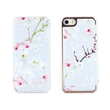 Ted Baker ANA iPhone SE Damen Soft Feel Back Cover, Oriental Blossom, Weiß