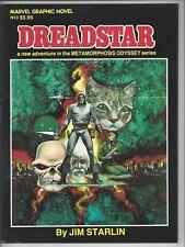 Marvel Graphic Novel 3 - VF (8.5) $5.95 Canadian Variant Dreadstar Unread