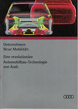 Audi ASF (A8 quattro) Audi Space Frame Prospekt/brochure/prospectus/opuscolo Alu