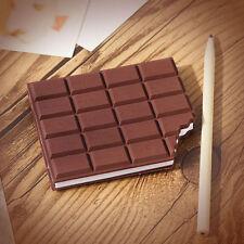 3D Chocolat Couvercle Bloc-Notes Pense-Bête École Bureau Papeterie Mode