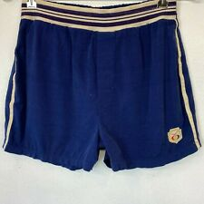 Vintage Jantzen Swim Trunks size 36 The Expandables Blue White Stripes USA SW