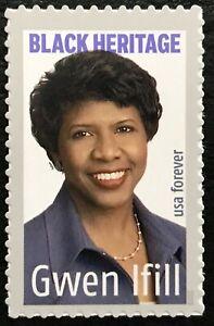 2020 Scott #5432 - Forever - GWEN IFILL - JOURNALIST BLACK HERITAGE -Single MNH