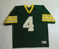 VTG 90s Logo 7 Mens XL Green Bay Packers Jersey Brett Favre Football NFL USA