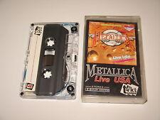 METALLICA - Live USA - MC cassette tape /366