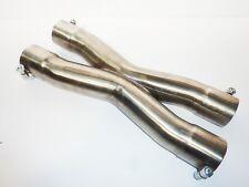 """2.25"""" 57mm di scarico Tubo In Acciaio Inox x Sezione DIVISORE Bolt On"""