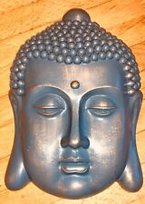 Latex mould for making this Very Detailed Buddha Head Plaque