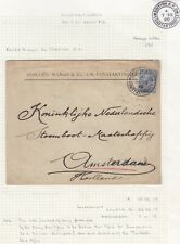 British Post Office in Constantinople 1920 cover