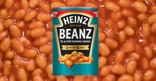 More details for funky black apron heinz baked beans 100% cotton  bnwot