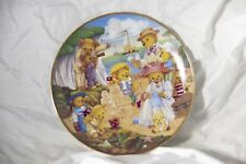 Franklin Mint Teddy Bear Beach Party Limited Edition Collectors Plate