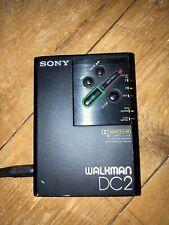 Vintage/Classic Original Sony Walkman WM DC2 Professional Cassette Player