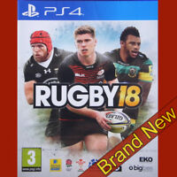 RUGBY 18 Sony PS4 UK PAL PlayStation 4 game BRAND NEW Sealed
