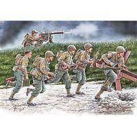 "US SOLDIERS, OPERATION OVERLORD PERIOD ""Move Move!"" 1/35 MASTER BOX 35130 DE"