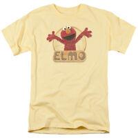 SESAME STREET ELMO Licensed Adult Men's Graphic Tee Shirt SM-3XL