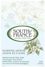 South of France Bar Soap, Blooming Jasmine 6 oz