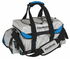 Flambeau Outdoors 5005CST Coastal 5000 Duffle, Light Grey/Blue 071617092078