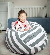 WEKAPO Kids Stuffed Animal Storage Bean Bag Chair | Extra Large Size 38''-new