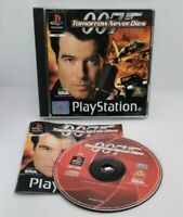 007: Tomorrow Never Dies Video Game for Sony PlayStation PS1 PAL TESTED