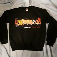 Gildan Blink-182 California Men's Black Pullover Heavy Blend Crew Sweatshirt Sm.