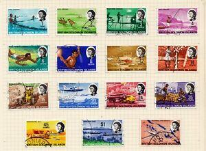 British Solomon Islands fine used 1968 definitive issue