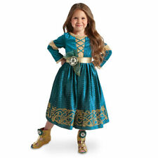 Brave Meridia Girls Shoes Only Size 13/1 by Disney Gold Heel Costume Accessories