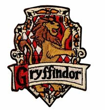 HARRY POTTER GRYFFINDOR HOGWARTS SCHOOL OF MAGIC Embroidery Applique Patch