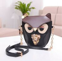 Owl Satchel Messenger Womens Shoulder Bag Girls Handbag CrossBody Purse