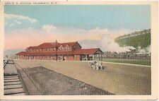 Erie Railroad Station Salamanca NY Postcard