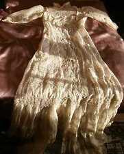 Robe de mariée vers 1900 - Broderies & dentelles - Une merveille pour Collection