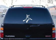 Beauceron dog Vinyl Decal,French Ring Sport,Flyball,tracking,herding,lg